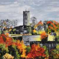 Sparrenburg im Herbst